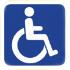 Pictogramme mobilité réduite